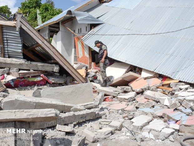 زلزله در اندونزی