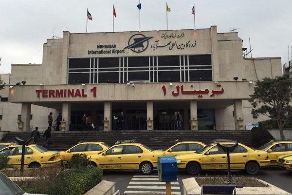 مسیر دسترسی فرودگاه مهرآباد در روز تشییع پیکر شهید سردار سلیمانی