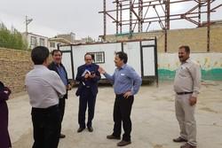 طرح بازسازی و ساخت مدارس در مناطق محروم نورآباد آغاز شد