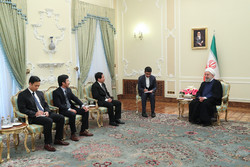 Pres. Rouhani calls for expansion of Tehran-Hanoi ties