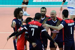 Iran routs Japan at Asian Club Volleyball C'ships