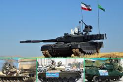 برنامه افزایش توانمندی سامانههای دفاعی زمینی/ معرفی جزئیات ۶ تانک ایرانی