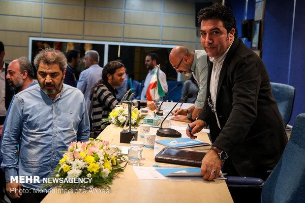 نشست خبری جشنواره بین المللی تئاتر فجر