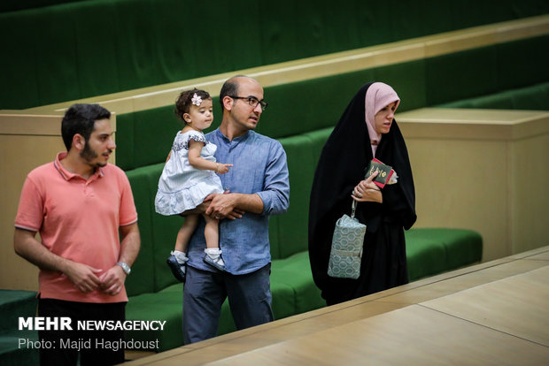 Iranian parliament holds open session on Tues.