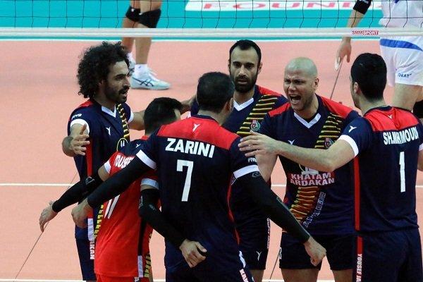 Iran routs Japan at Asian Club Volleyball C'ships
