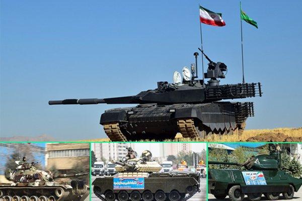 برنامه افزایش توانمندی سامانه دفاعی زمینی/جزئیات ۶ تانک ایرانی