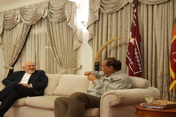 Iran, Sri Lank determined to boost ties