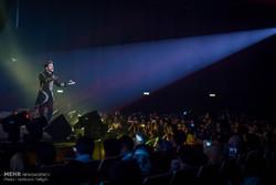 İran'da pop müziği konseri