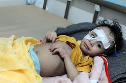 کودکانی که با مرگ دست و پنجه نرم می کنند