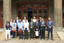 """جولة اعلامية لوفد وكالة مهر للأنباء وصحيفة """"طهران تايمز"""" في الصين /صور"""