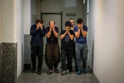 دستگیری اعضای باند سارقان منزل قلهک