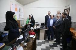 بازدید رییس دانشگاه علوم پزشکی شهید بهشتی از مراکز درمانی دماوند
