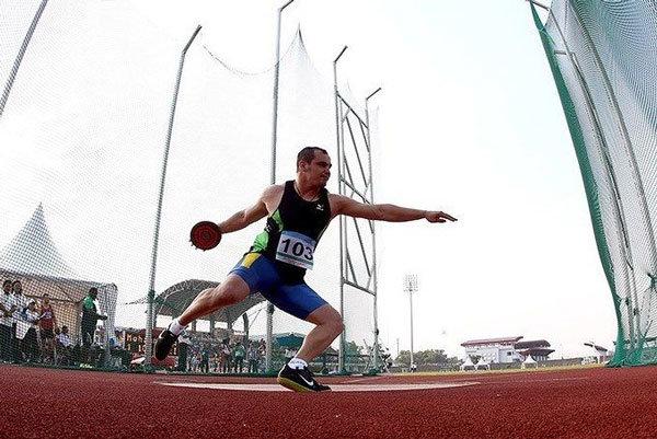 درخشش ورزشکار چهارمحالی در رقابت های بین المللی  پرتاب دیسک