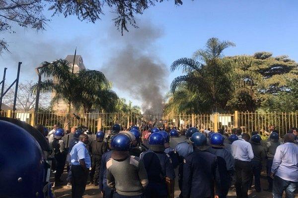 ناآرامیها در  زیمباوه همزمان بااعلام نتایج انتخابات ریاست جمهوری