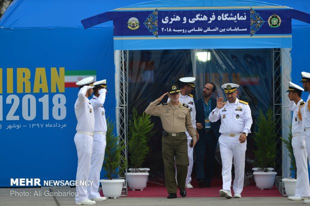 2018 Intl. Army Games depth competition opens in Iran's Nowshahr