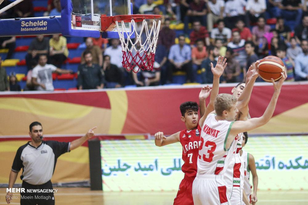 Iran vs. Lebanon at WABA U16 C'ships