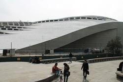 ساختمان مجاور تئاتر شهر