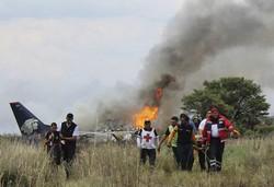 میکسیکو میں کوکین سے بھرا جہاز گر کر تباہ