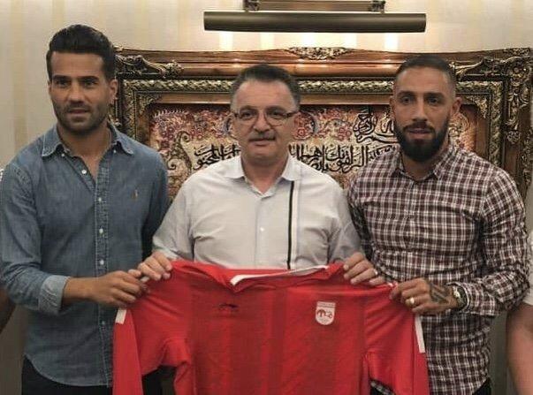 اتفاق ویژه فوتبال ایران رقم خورد/دوکاپیتان تیم ملی در تراکتورسازی