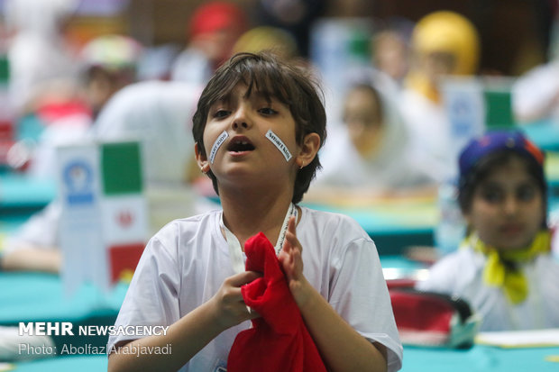 'Smart Kids' contest in Tehran
