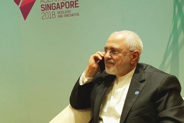 Iran's Zarif, France' Le Drian discuss JCPOA on phone