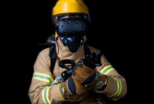 آموزش آتش نشانی با کمک سیستم واقعیت مجازی