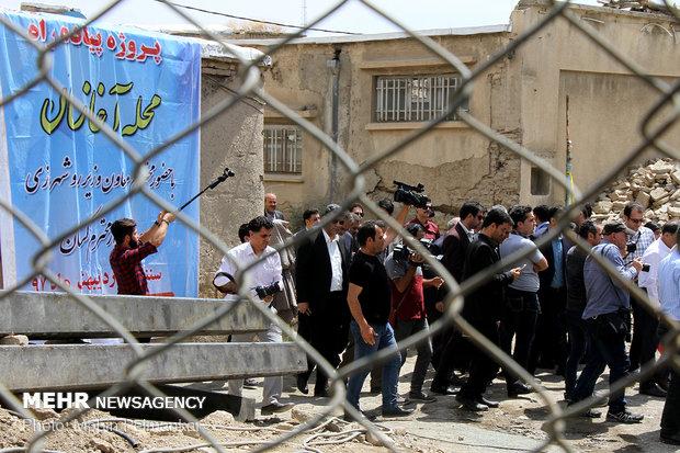 سفر عباس آخوندی وزیر راه و شهرسازی به کردستان