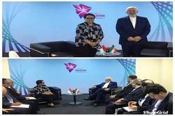 وزیران امور خارجه ایران و اندونزی دیدار و گفتگو کردند