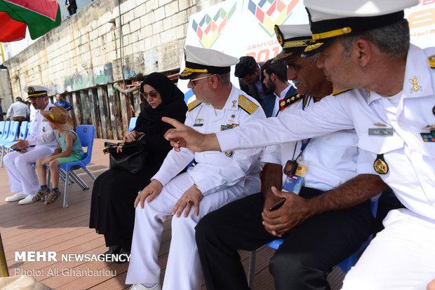 مسابقات غواصی ارتش های جهان در نوشهر