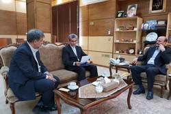 سفیر ایران در ساحل عاج با استاندار قزوین دیدار کرد