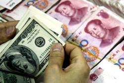 یوآن در برابر دلار