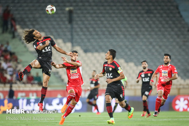 """مباراة """"برسبوليس"""" و""""فولاد خوزستان"""""""