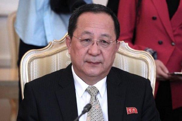 N Korean state news agency confirms FM Ri Yong Ho's visit to Iran