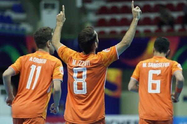 Iran's Mes Sungun secures berth in quarterfinal of AFC Futsal Club C'ships
