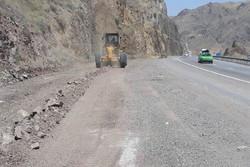 اصلاح ۹۸ نقطه پرحادثه خیز در جاده های استان ایلام