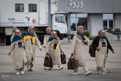 اعزام اولین گروه از زائران استان همدان به مکه مکرمه