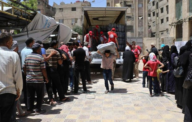 300K citizens received medical, relief services in Daraa