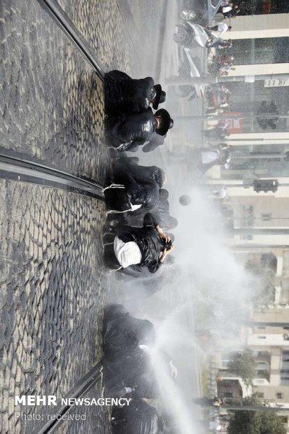 """إحتجاجات اليهود """"الحريديم"""" في فلسطين المحتلة"""