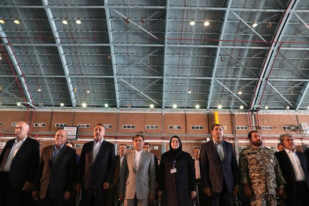 دخول خمس طائرات ركاب حديثة من طراز ATR الى طهران