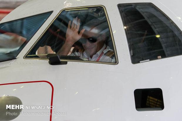 ورود پنج فروند هواپیمای ATR به ایران