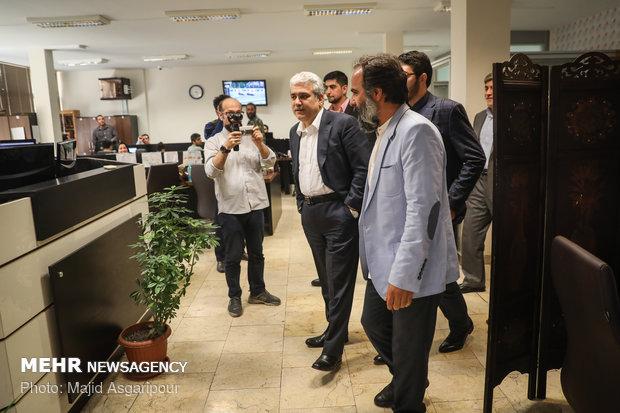 VP Sattari visits MNA HQ