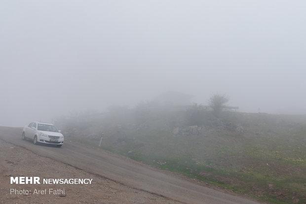 اردبیل خنک ترین مرکز استان کشور/ گردشگران غافلگیر شدند