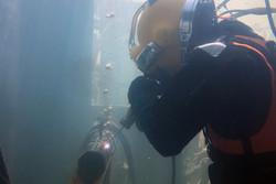 مسابقات اللحام تحت الماء/صور