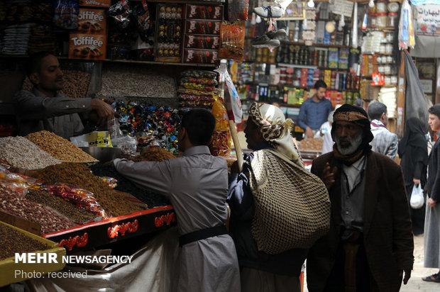 زندگی روزمره در صنعا پایتخت یمنعجلة الحياة تستمر دون توقف في صنعاءتحت ظلال الحرب