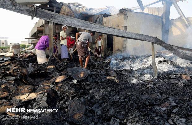 طيران العدوان السعودي يستهدف صنعاء وصعدة