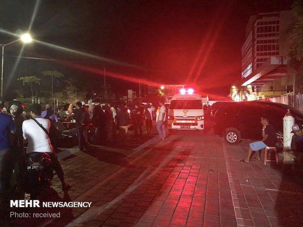 Endonezya'da 7 büyüklüğünde deprem