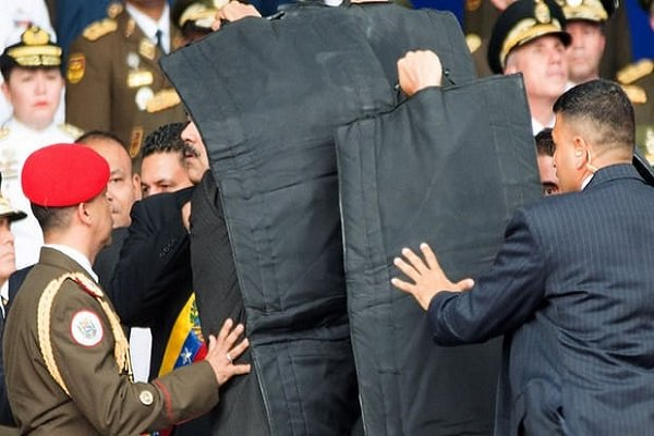 VIDEO: Failed assassination of Maduro from three different angels