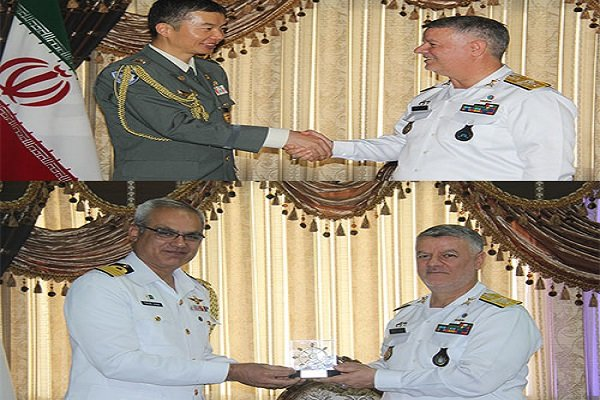 Iran Navy commander meets with Japanese, Pakistani military attachés