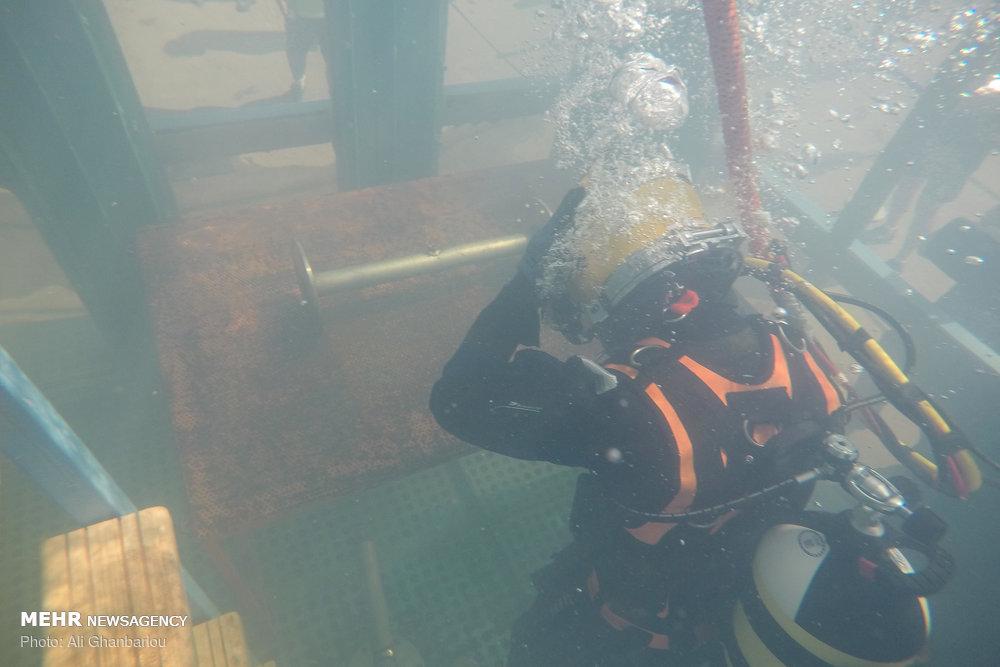 مسابقات ارتش های جهان - جوشکاری زیر آب