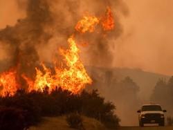 آتش سوزی گسترد در کالیفرنیا